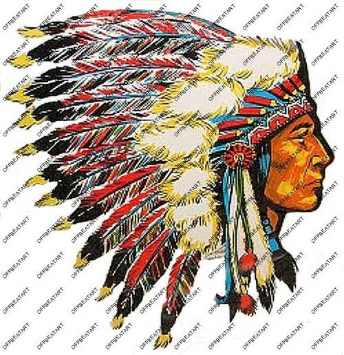 Hot Rat Rod Vintage Window Decal Impko's Indian Chief