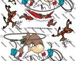 Cowboy santas and reindeers original thumb155 crop