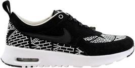 Nike Air Max Thea LOTC QS Black/Black-White 847072-001 Women's SZ 6 - $55.41