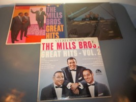 THE MILLS BROTHERS, Great Hits on 33 1/3 RPM Lp Record - $7.38