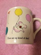 "Hallmark Coffee Mug / CUP--MUGS--""HAVE An Up Kind Of DAY""----FREE SHIP--VGC - $13.35"