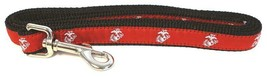 MARINE CORPS DEVIL DOG COLLAR AND LEASH SET MADE IN USA - $37.99