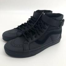 VANS SK8 Hi Reissue St Leather Ballistic/Black  Skate Shoes Sz Men 8, Wo... - $89.99