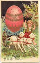 A Joyful Easter Paul Finkenrath of Berlin Vintage Post Card - $7.00