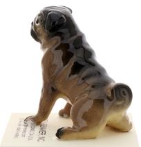 Hagen-Renaker Miniature Ceramic Dog Figurine Pug Fawn Mama Sitting image 2