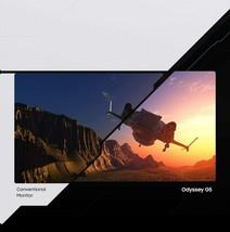 New SAMSUNG 32-Inch WQHD G5 Odyssey Gaming Monitor 1000R Curve LC32G55TQ... - $494.01