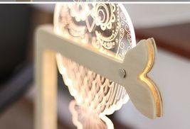 Mooas USB Wired Acryl LED Owl Night Mood Lights Lighting Lamp Indoor Interior image 7