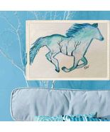 4.5 x 5.5 Watercolor Running Horse by Artist - $14.95