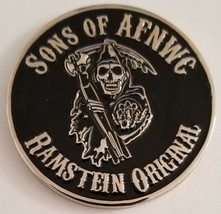 Usaf Sons Of Afnwc Air Force Nuclear Weapons Center Ramstein Ab Germany Coin - $148.49
