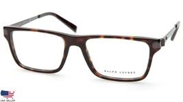 Ralph Lauren Rl 6162 5003 Dark Havana Eyeglasses Frame 53-17-140 (Display Model) - $78.39
