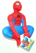 "Amazing Spider-man 2007 KellyToy Marvel 13"" New NWT Character Toy Plush Ages 3+  - $4.95"
