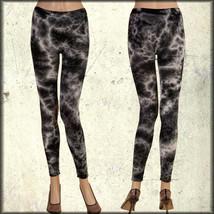 Rock Punk Rave Goth Club Yoga Sport Womens Stretch Leggings Pants Black ... - $15.19