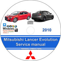 Mitsubishi Lancer Evolution 2010 X Factory Workshop Service Repair Manual - $15.00