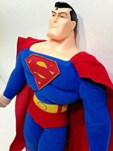 DC Comics SUPERMAN Man of Steel Plush Doll 2011 Toy Factory Justice Leag... - $24.99