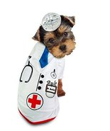 Medical Doctor Barker Dog Costume Dress Your Pup Like Your Favorite Phys... - $34.81