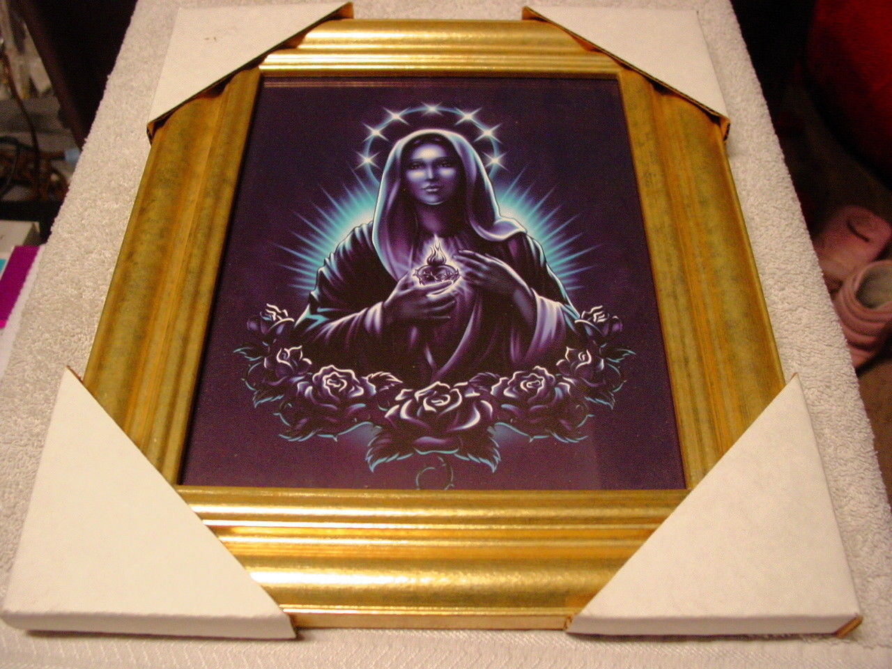 Guadalupe 11x13 mdf framed picture 3 gold and similar items jeuxipadfo Image collections