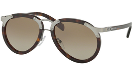 Prada Men's SPR01T  2AU1X1 Havana Brown Gradient Fashion Round Sunglasse... - $199.95
