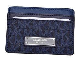 MICHAEL Michael Kors Signature Card Holder Blue Handbags & Accessories - $63.50