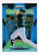 2019 Prizm Blue Mojo Prizm #280 Nick Martini NM-MT  / 399  - $14.23