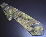 Tie ermenegildo zegna tropical with parrot greens   browns 01 thumb155 crop