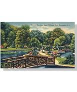 Providence, RI Postcard, Roger Williams Park/Gardens - $6.00