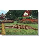 Providence, RI Postcard, Roger Williams Park/Flag - $5.00