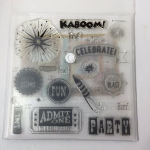 Kaboom S1406 Close to My Heart My Acrylix Stamp Set Stamp of the Month - $11.64