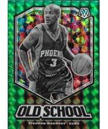 Stephon Marbury Mosaic 19-20 #9 Old School Green Mosaic Prizm Phoenix Suns - $2.50