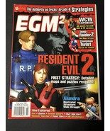 EGM2 Video Game Magazine February 1998 Issue #44 NEAR MINT Cond-Resident... - $27.54