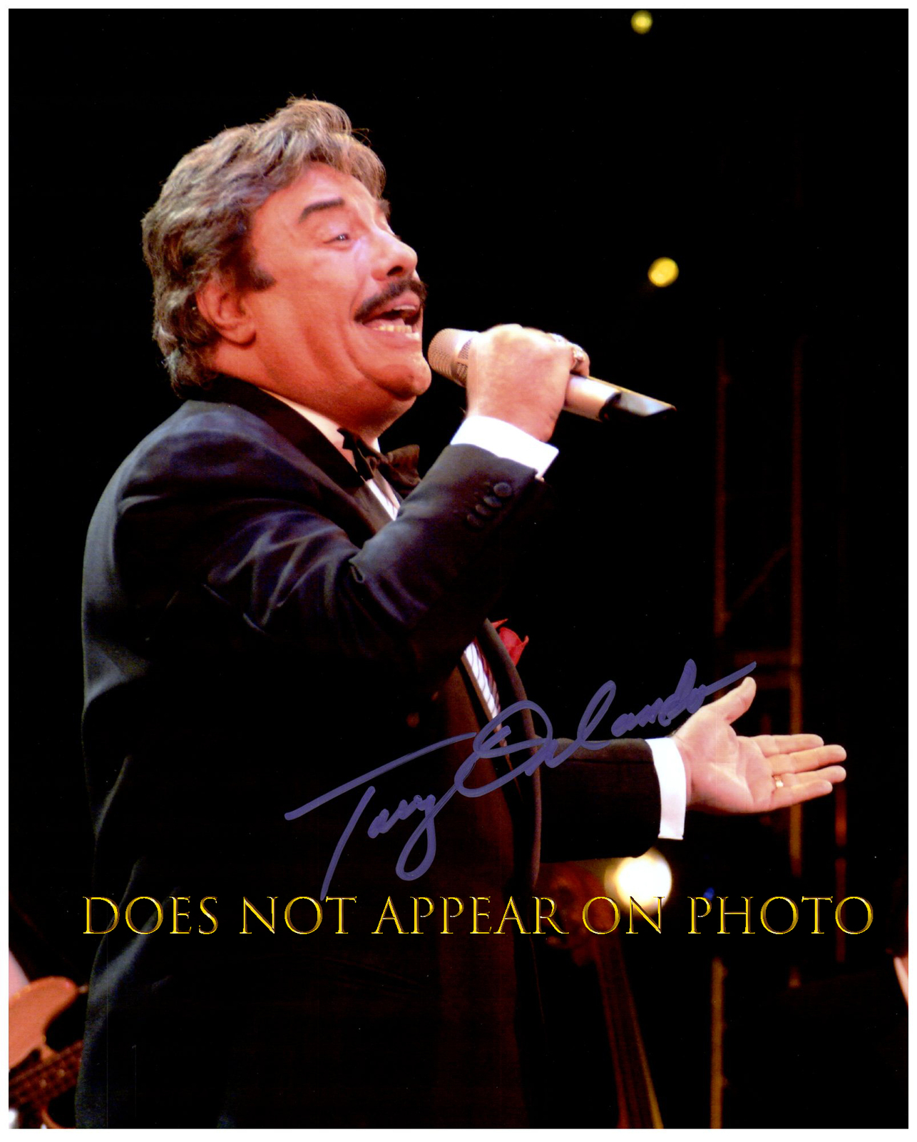 Primary image for TONY ORLANDO Signed Autographed 8X10 Photo w/ Certificate of Authenticity 333