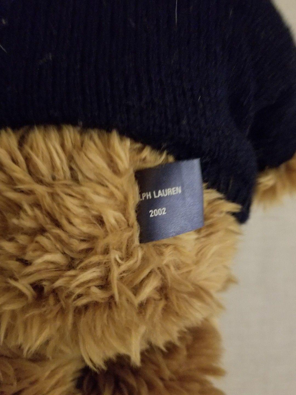 6ee6d375 Polo Ralph Lauren Mens Teddy Bear Adjustable Ball Cap Hat