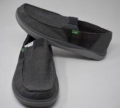 Plaid 1017923 Denim Mens Sanuk Tripper Loafer Size 12 Vagabond Brown 1qBY1zPw