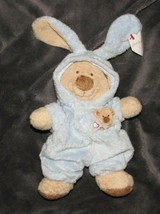 "Ty Love To Baby Blue Tan Bear Bunny Removable Pajamas Plush Beanie 8"" NEW - $34.64"