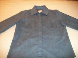 Women Liz Claiborne Blue Shirt Top S Small M Medium - $7.75