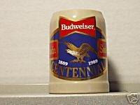 BUDWEISER SO42268 1989 ND SD CENTENNIAL STEIN MUG