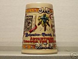 BUDWEISER N3989 1992 ADVERTISING DECADES #1 MUG STEIN - $71.95