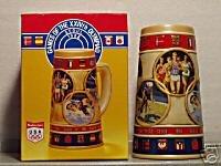 BUDWEISER 1 CS92 1988 SUMMER OLYMPIC GAMES STEIN MUG