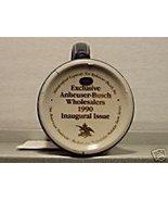 BUDWEISER CS112 GOLD 1990 HOLIDAY WHOLESALER #11 MUG - $172.95