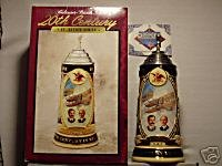BUDWEISER CS311 1997 20th CENTURY REVIEW #1 STEIN MUG