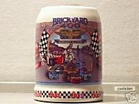 BUDWEISER N5359 1995 BRICKYARD 400 #2 STEIN MUG