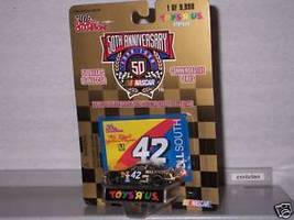 NASCAR 1998 #42 JOE NEMECHEK BELL SOUTH 1/64 Toys R Us - $7.95