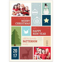 Holiday Christmas Photo Cards, Set of 20 - ₨1,272.20 INR