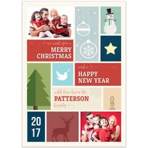 Holiday Christmas Photo Cards, Set of 20 - $19.80