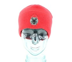 Spyder Classic Logo Outdoor Winter Skiing Snowboard Beanie Hat Cap Red A... - $28.66