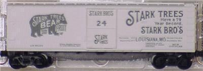 Micro Trains 42010 Stark Trees 40' Boxcar 24