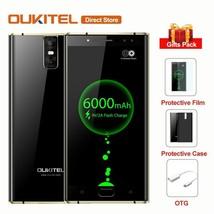 Original OUKITEL K3 6000mAh 4G Smartphone 5.5'' Mobile Phone Touch ID Un... - $187.40