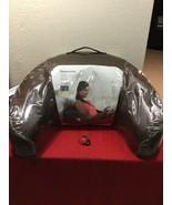 Brookstone Shiatsu Massaging Bed Rest Backrest Pillow Lounger Plush NAP ... - $80.00