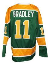 Custom Name # Salt Lake Golden Eagles Retro Hockey Jersey Bradley Green Any Size image 2