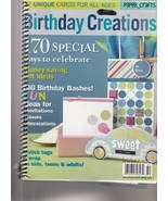 Birthday Creations 2005 From Paper Crafts Magazine - $5.99