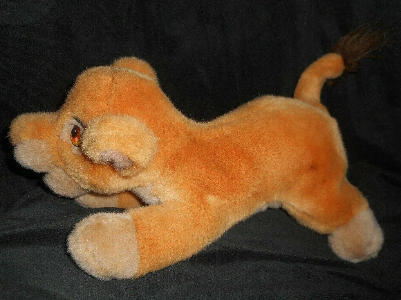DISNEY VINTAGE THE LION KING SIMBAS PRIDE KIARA CUB STUFFED ANIMAL PLUSH TOY